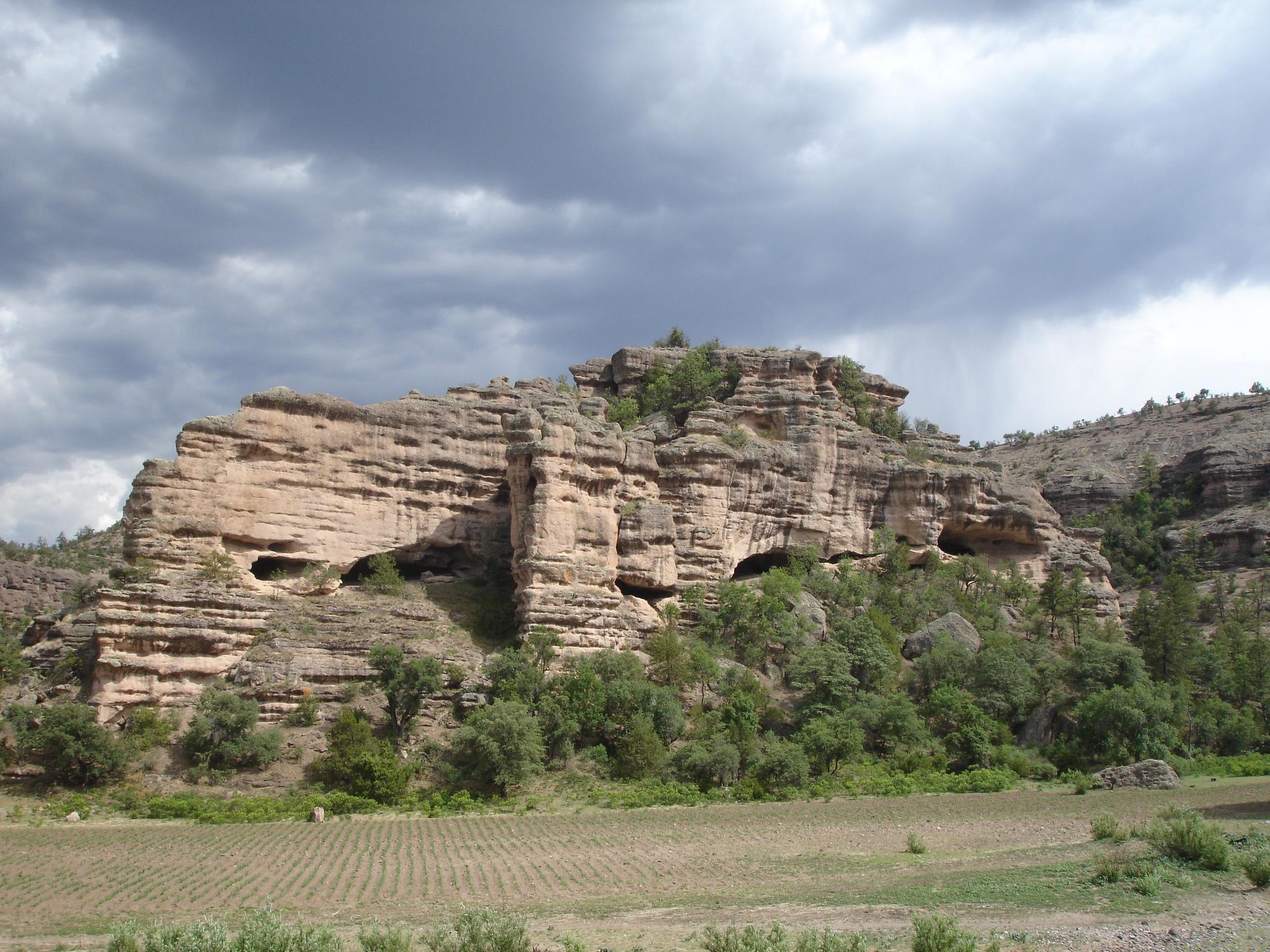 Valle de las Cuevas en Chihuahua.