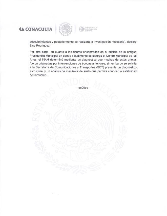 Comunicado de Prensa Juárez 2 de 2