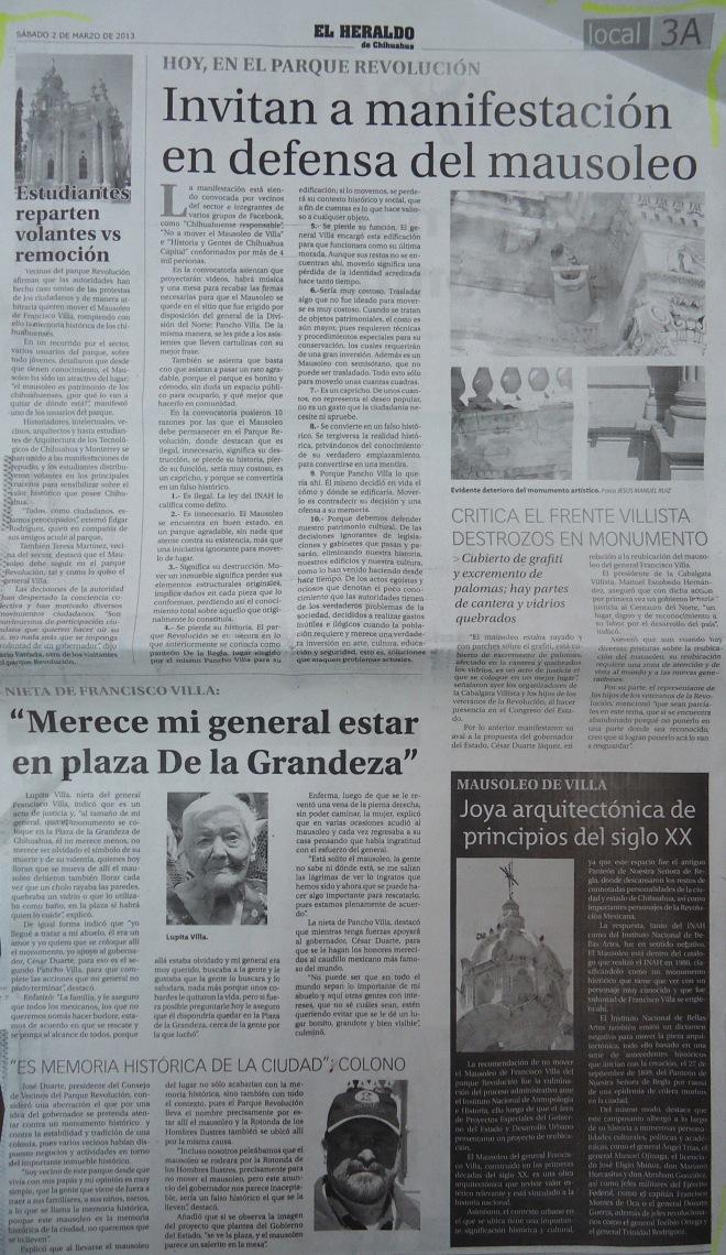 Heraldo 02.03.2013