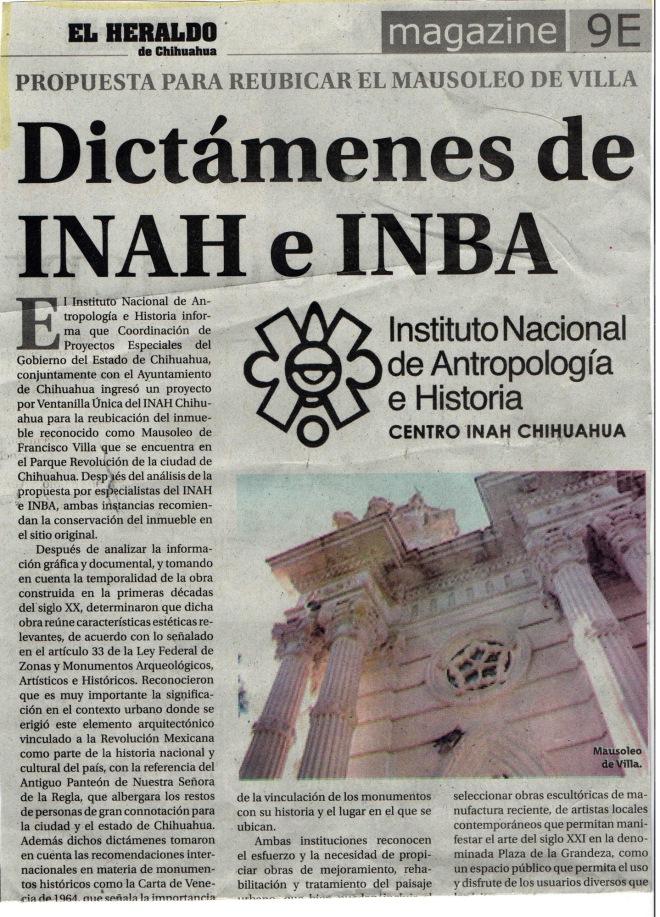 Heraldo 03.03.2013