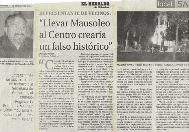 Heraldo 05.03.2013