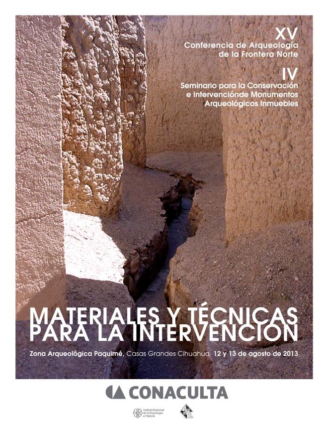 XV Conferencia de Arqueologia