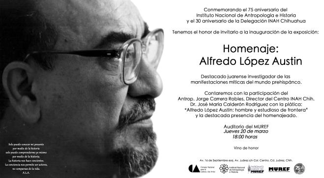 Invitación López Austin