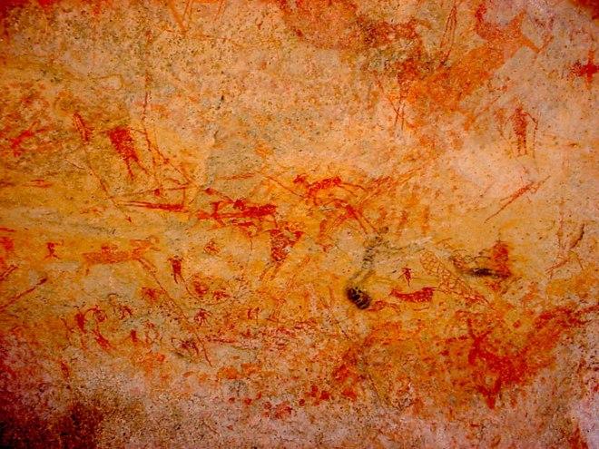 arte rupestre en Samalayuca