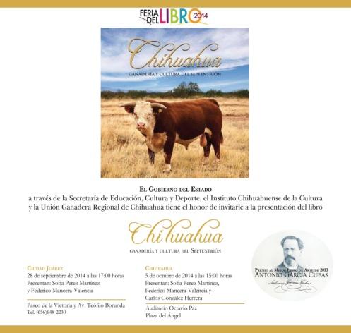 Invitación-ganadería