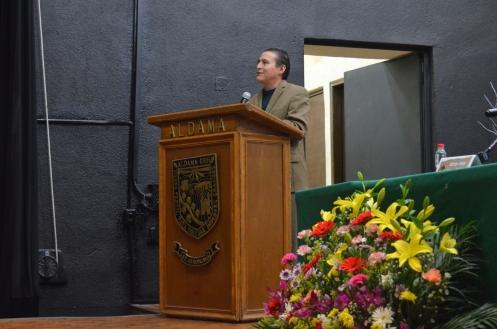 antrop. Jorge Carrera delegado del INAH