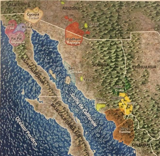 Pueblos indígenas de Sonora fuente Los Pueblos Indígenas del Noroeste Atlas Etnográfico